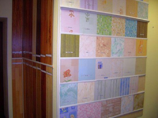 Стеновые панели с термопечатью.